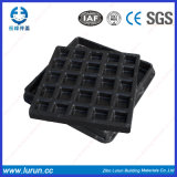 A15 que bloquea la cubierta de boca compuesta rectangular