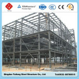 El profesional diseñó el edificio de la estructura de acero