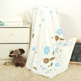工場によってカスタマイズされる有機性綿モスリンの赤ん坊毛布