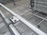 Le Australie gabbia dei rifiuti degli scomparti della costruzione di 1500mm x di 1800mm x di 1800mm