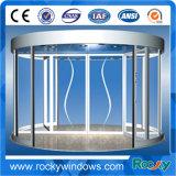 Porte giratoire en verre de modèle neuf rocheux pour l'hôtel et l'aéroport