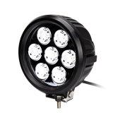 LED automática de alta potência de 7 polegadas impermeável 70W Round LED CREE Lâmpadas de Condução
