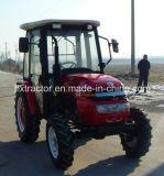 20hp a 40 HP 4WD tractor agrícola com Aquecedor e Ventilador da Cabine