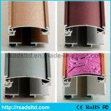 セリウムの品質アルミニウムLED細いライトボックスフレーム