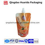 Il sacchetto personalizzato del becco del sapone liquido, si leva in piedi in su il sacchetto di plastica