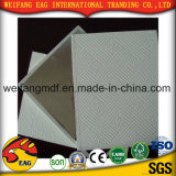 teto da gipsita do revestimento do PVC do branco de 7mm com parte traseira da folha de alumínio