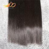 卸し売りマレーシアのバージンの人間の毛髪のまっすぐな絹のスムーズな毛のよこ糸