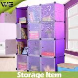 12 cubos de plástico modular caixa de armazenamento moda guarda-roupa armário mobiliário de quarto