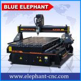 Elefante blu 1325 macchina per incidere di legno macchina/3D di CNC di taglio di 4 assi