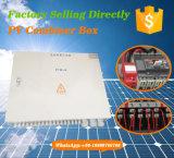 Contenitore di combinatrice di schiera di PV dei 16 input con l'anti inverso
