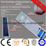 5 W 12V Painel solar e bateria de lítio da Liga de Alumínio Rua Solar de LED do alojamento da luz LED integrativa Bridgelu Luz de Rua