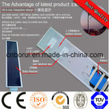 5 der w-12V straßenlaterne-Gehäuse Bridgelu integratives LED Sonnenkollektor-und Lithium-Batterie-Aluminiumlegierung-LED Solarstraßenlaterne