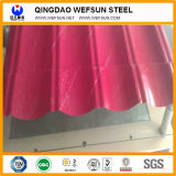 strato ondulato d'acciaio galvanizzato PPGI standard di GB di spessore di 0.14~1.0mm