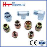 Hydraulischer Adapter, der metrischen männlichen hydraulischen Schlauch-Adapter befestigt