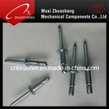 高力DIN7337アルミニウム鋼鉄Opentypeのドームヘッドブラインドのリベット
