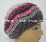 Мода береты вязаные Red Hat ручного вязания Red Hat (Hjb023)