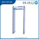 Жк-дверной рамы с металлоискателем ходьбы через металлоискатель