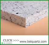 Pierre blanche de quartz de contre- dessus de cuisine de la Chine