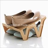 Zapatos de plástico doble molde Rack