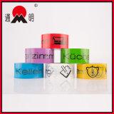 Bande estampée colorée par adhésif pour le cachetage de carton