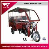 Motor Trike del triciclo de la rueda del levantamiento que carga /Three con el encerado