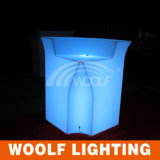 Wiederaufladbare Glow Tabelle LED Outdoor Garden Bar Möbel