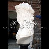Белый Carrara & бюст Empador черный для домашнего украшения Ms-2428