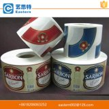 Etichette adesive stampate abitudine materiale impermeabile del vinile per le bottiglie dello spruzzo