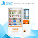 Sistema de gerenciamento de computador de tela de toque LED Máquina de venda automática de frutas e saladas do transportador de correia