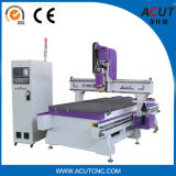 Tür, die Maschine China neuen ATC CNC-Fräser mit 16 Hilfsmitteln Acut-2513 herstellt