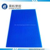 4mm~12mm en plastique du panneau de toiture en polycarbonate avec protection UV