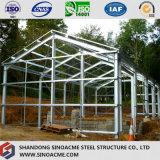 Edificio ligero prefabricado de la estructura de acero para la casa y la oficina