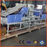 普及した木製パレットブロック機械