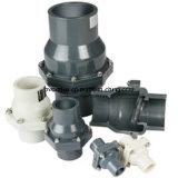 Giro de PVC de alta calidad DIN de válvula de retención de la norma JIS ANSI