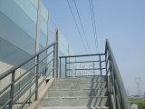 紫外線保護ハイウェイのポリカーボネートの固体音速の壁シート