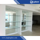 Tamanho personalizado Clear Bathroom Door 8mm 6mm Tempered Glass