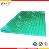 PC de feuille de plastique creux des feuilles de toiture Feuille de polycarbonate couvrant (YM-PC-060)