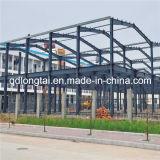 Het Pakhuis van het staal dat van de Lichte Structuur van het Staal wordt gemaakt