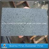 Honest Dark Grey / Black Basalt avec trous pour carreaux de sol, carreaux de basalte