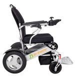 Fácil llevar el sillón de ruedas ligero eléctrico de aluminio para los minusválidos