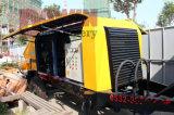 50 Cbm / Hr máquina de bombeo de hormigón con tubería de acero de distribución de 100m en venta