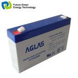 6V 4ah nachladbare AGM-Leitungskabel-Säure-Batterie für Backup UPS