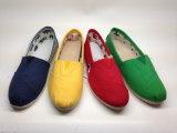 Нюна ботинок повелительницы деятельности обувает ботинки холстины (14hy1604)