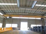 Gru a ponte utilizzata workshop della singola trave della gru a ponte con la gru elettrica