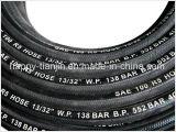 SAE100 R5 Draht-Flechten-Gewebe deckte hydraulischen Schlauch ab