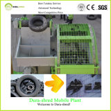 para la paleta plástica que recicla la sola desfibradora usada del eje de la máquina