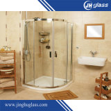 Luxus Frameless Glass Porte de douche à charnière