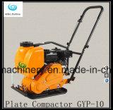 Compactador de placas vibratórias com placa durável e motor confiável Gyp-10