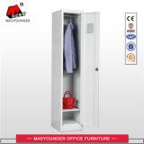 Gymnastik-Schlüsselarbeitskraft-Büro-Gebrauch-einzelner Tür-Speicher-Stahlmetalschließfach mit Tuch-Stab