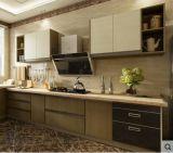 Gabinete de cozinha da laca do verniz do Stoving da qualidade de Havana Hight (CA20-16)